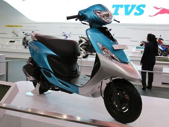 TVS Scooty Zest front shot