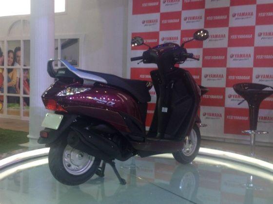 Yamaha Alpha launch at 2014 Indian Auto Expo