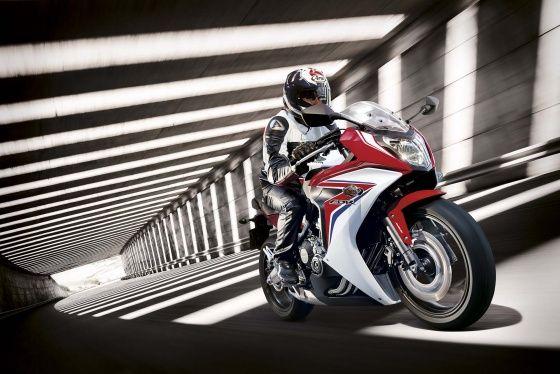 Honda CBR 650F action shot