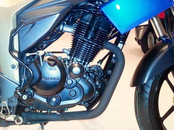 Suzuki Gixxer 155cc engine