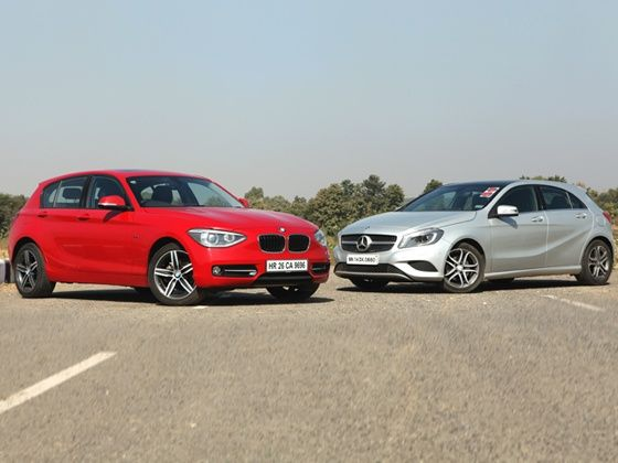 BMW 1 Series and M-B A-Class
