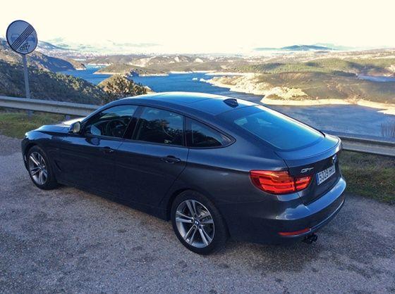 BMW 3GT First Drive Rear