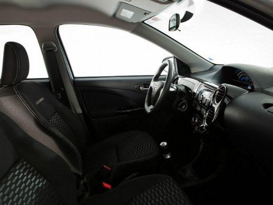 Toyota Etios Cross Interiors