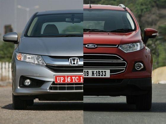 New 2014 Honda City vs Ford EcoSport diesel