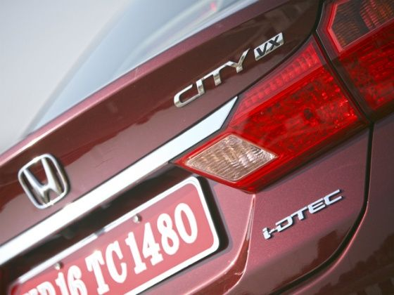 Honda City Diesel Badging