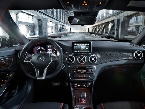 Mercedes-Benz at the 2014 Indian Auto Expo CLA-Class Interiors