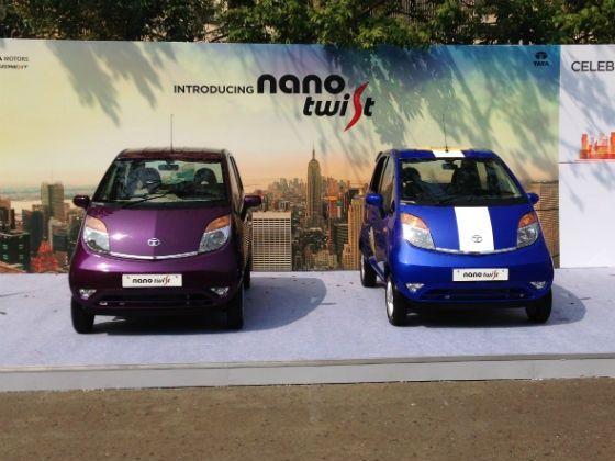 Tata Nano Twist front shot