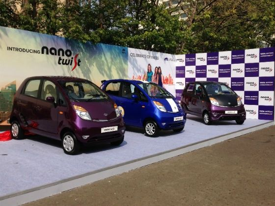 Tata Nano Twist launch pic