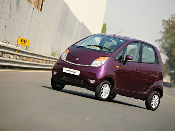 Tata Nano Twist static