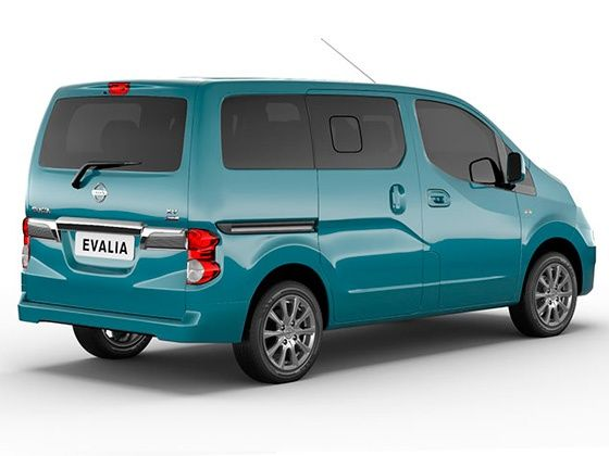 2014 Nissan Evalia facelift rear design