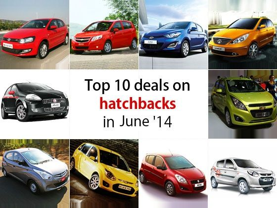 Top 10 deals on Hatchbacks in June 2014