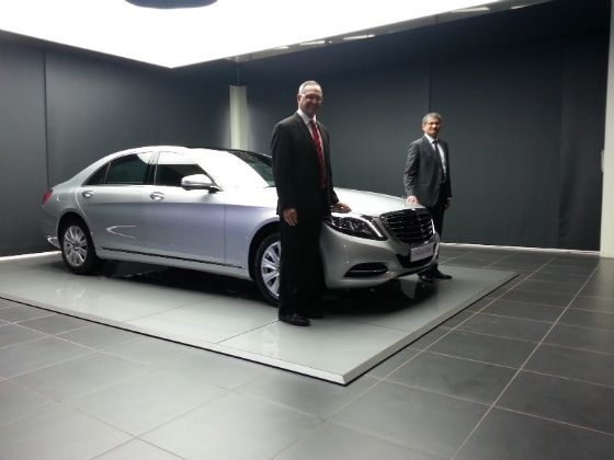 Mercedes S Class S350 Diesel launched
