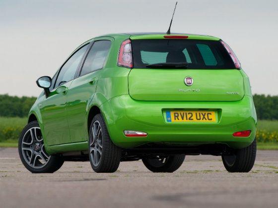 New Fiat Punto Rear