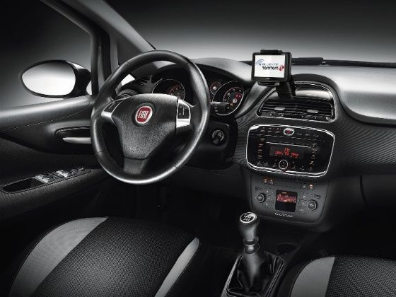 New Fiat Punto Interior