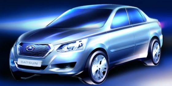 Datsun GO Sedan Sketch