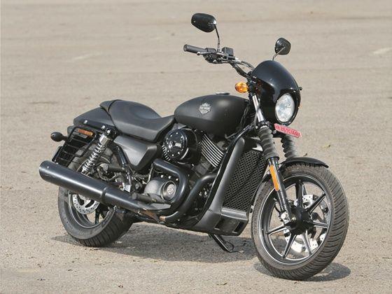 Harley-Davidson Street 750  static shot