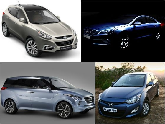 Four more new products on the anvil from Hyundai