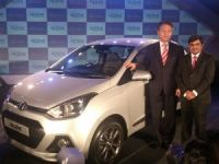 Hyundai Xcent launch