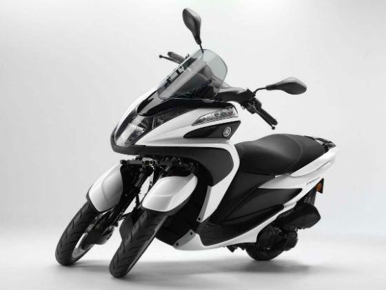 Yamaha Tricity scooter studio shot