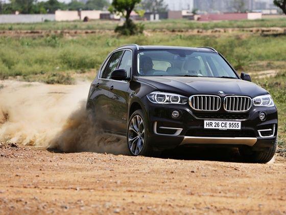 2014 BMW X5 xDrive 30d playing dirty