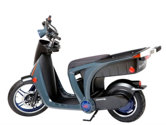 Mahindra GenZe electric scooter rear shot