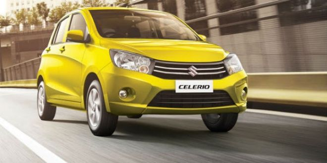 Maruti Celerio Top 5 cars for women