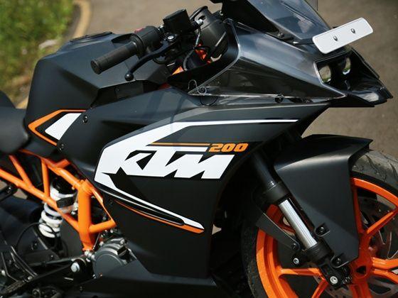 KTM RC200 fairing