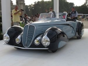 Indian provenance Delahaye 135 wins 2014 Chantilly Concours