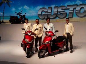 Mahindra Gusto launch
