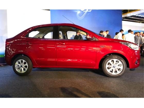 Ford Figo Aspire compact Sedan side