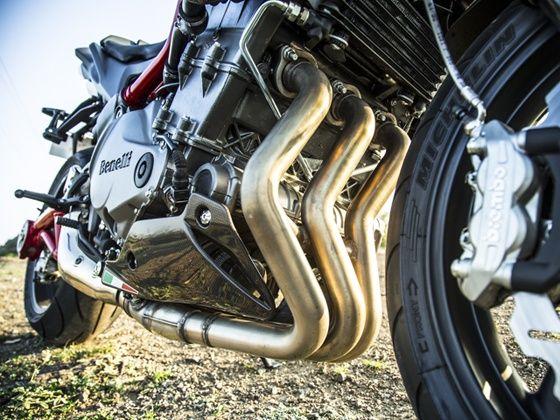 Benellis 898cc 3-cylinder motors has a unique sound