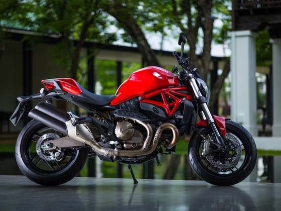 New Ducati Monster 821 review