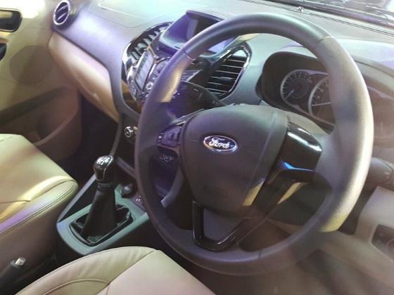 Ford Figo Aspire compact Sedan interior