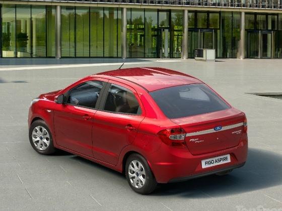 Ford Figo Aspire compact Sedan rear
