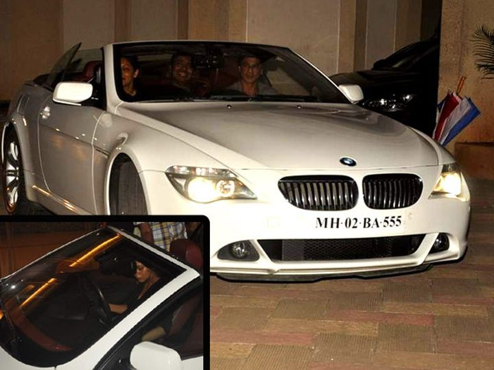 How bollywood celebs pamper their wives with luxury cars