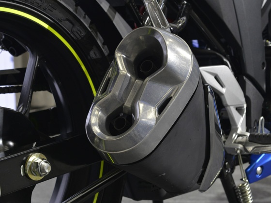 Suzuki Gixxer SF exhaust tip