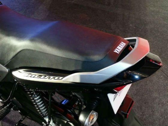 Yamaha Saluto ergonomics are good