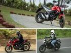 Honda CB Hornet 160R vs Rivals