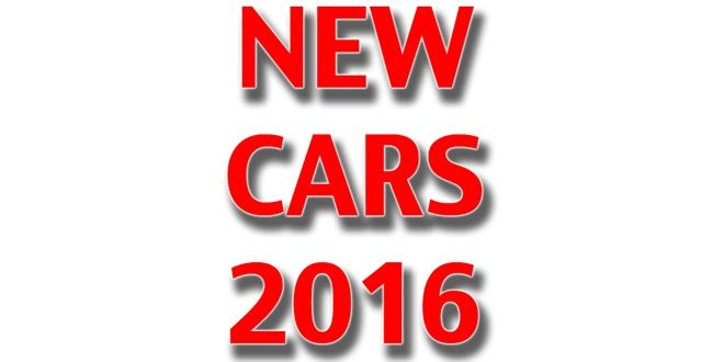 New cars launching in 2016