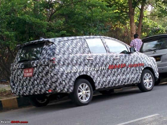 new car launches zigwheelsAllnew Toyota Innova pictures revealed Late 2016 launch