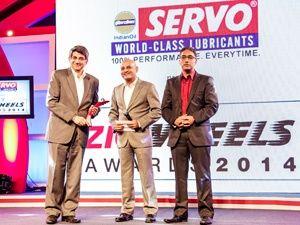 2014 ET ZigWheels Award: Readers' Choice Two-Wheeler of the Year Mahindra Gusto