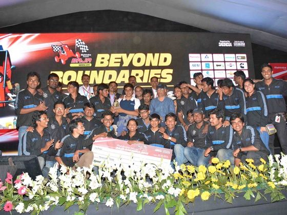 BAJA SAE India 2015 winners