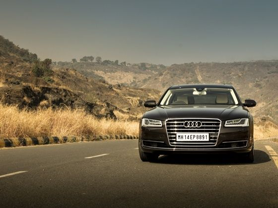 The new Audi A8L has recently got a design makeover and bumped up engine power output