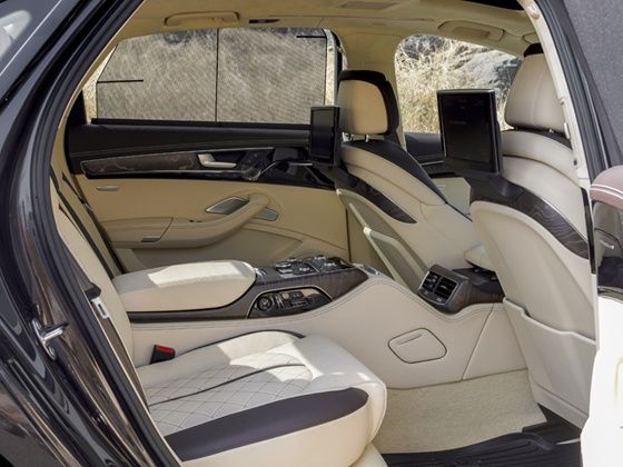 The Rear Seat Package on the 2015 Audi A8L 60 TDI