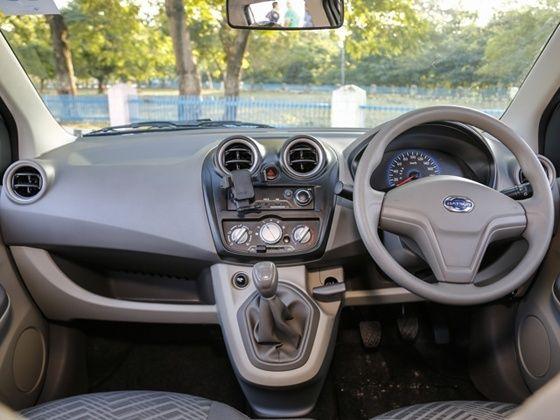 Datsun Go+ interior
