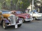 Vintage car rally in Mumbai on February 1