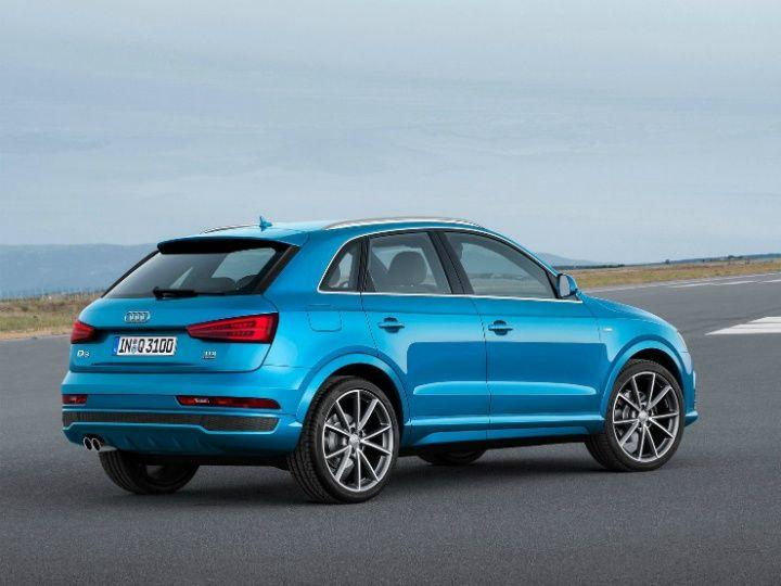 Audi Q3 facelift rear