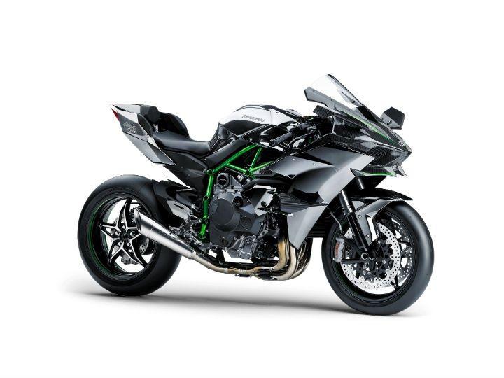 Supercharged Kawasaki Ninja H2R