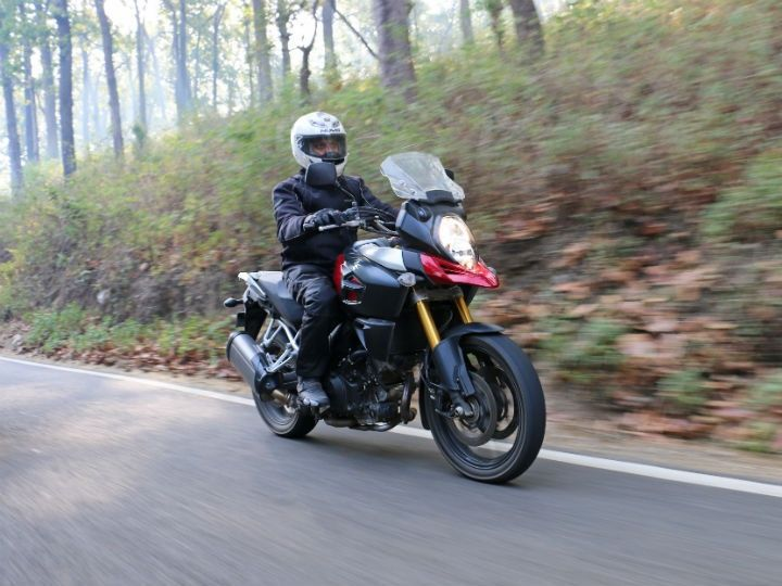 The V-Strom is stable, agile and predictable