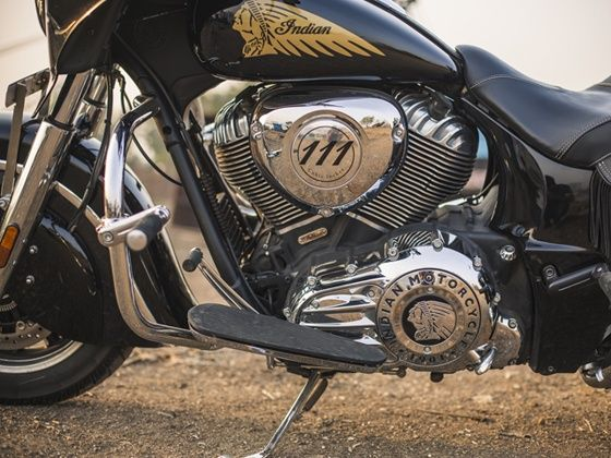 Indian Chieftain engine